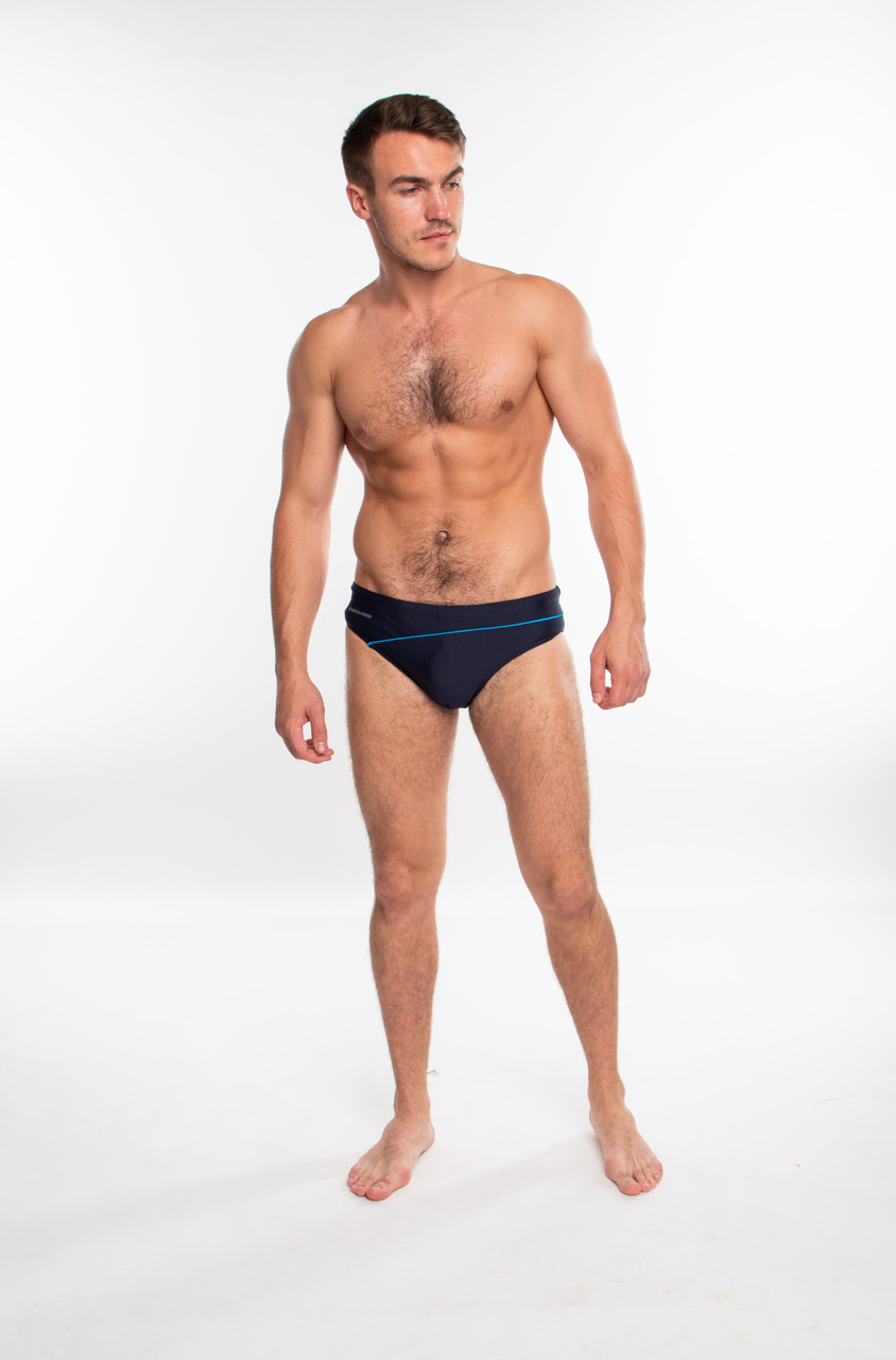 Мужские плавки слипы Sesto Senso 413 (Польша), купальные плавки для пляжа, для бассейна