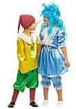 Детский карнавальный маскарадный костюм Буратино размер: 30, 32, 34, фото 4