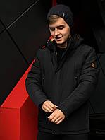 Темно-синяя зимняя мужская куртка (48-56)