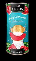 """Чай черный с зеленым листовой со вкусом арбуза Кертис (Curtis) """"Juicy Watermelon"""" 80 г. тубус"""