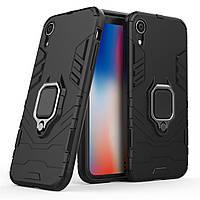 Чехол Ring Armor для Apple iPhone XR Черный
