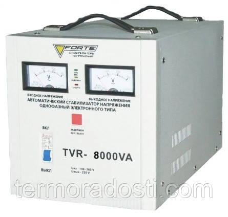 FORTE TVR-8000VA cтабилизатор напряжения для дома