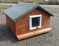 Домик для котиков 50х50 см (утепленный)