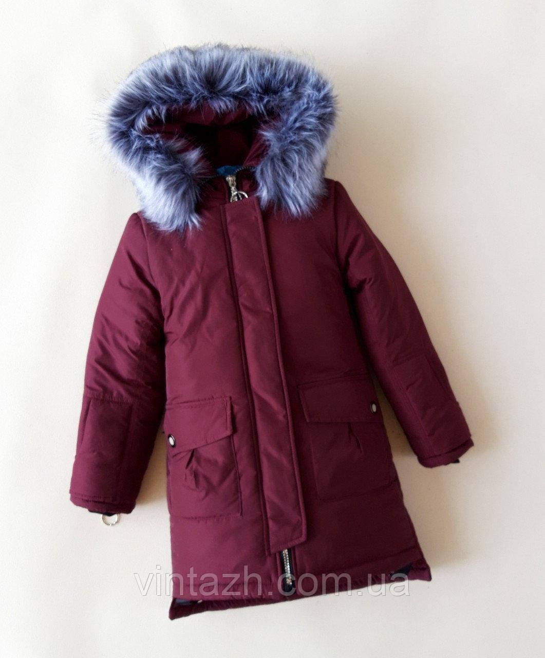Модная  зимняя куртка  для девочки в Украине от производителя