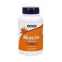 NOW Niacin 500 mg 100 caps