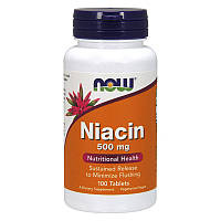 NOW Niacin 500 mg 100 tabs