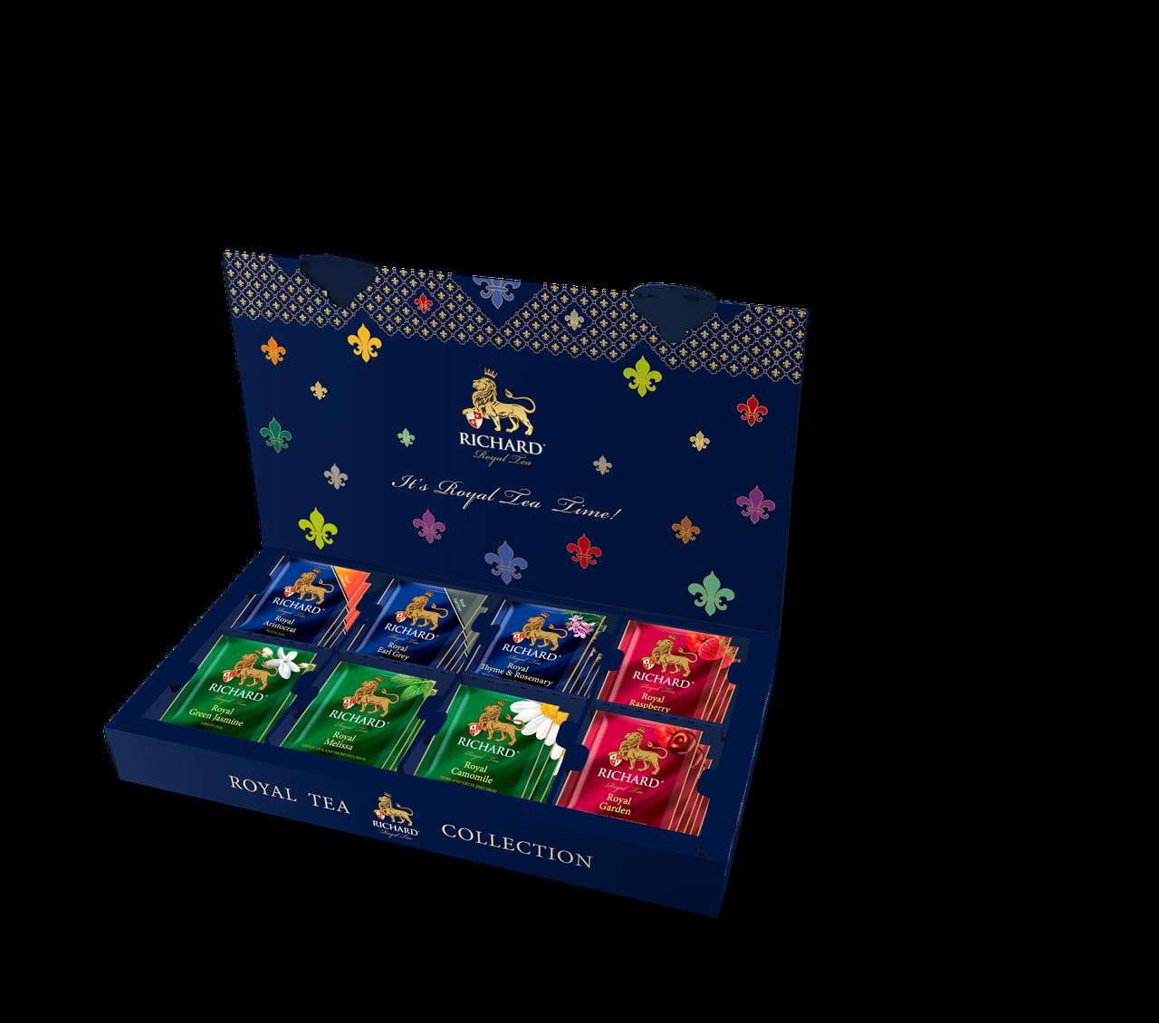 Чай набор пакетированный RICHARD ROYAL TEA COLLECTION 40 сашетов
