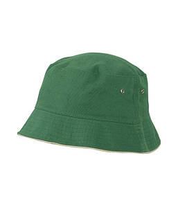 Рыболовная панама  для детей Тёмно-Зелёный / Бежевый