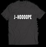 Стильная футболка принтом   J-Hope. BTS. J-Hoooope