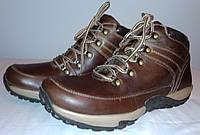 Чоловічі трекінгові Кросівки коричневі шкіряні 41 «Oaktrak» (Велика Британія)