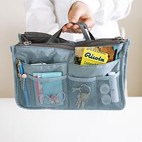 Многофункциональный Органайзер в сумку Bag in Bag (Голубой)