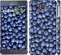 "Чехол на Samsung Galaxy Alpha G850F Черника ""851c-65"""