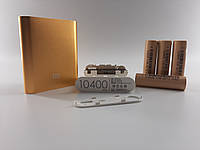 Корпус power bank. Реально 10400мА 5V 2.0A бокс на 4X18650 + аккумуляторы DLG 2600мА-4 шт. Сварка бесплатно