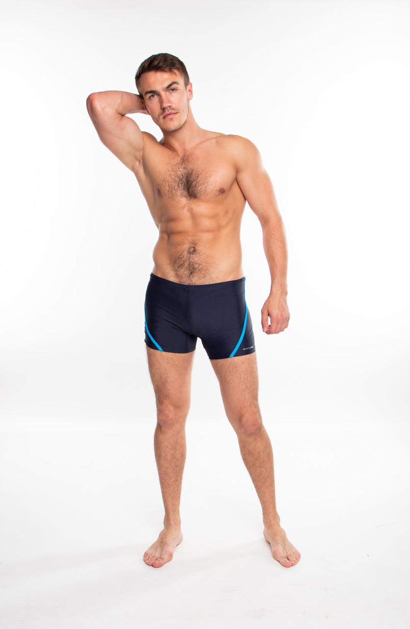 Мужские плавки боксеры Sesto Senso 366 (Польша), купальные плавки для пляжа, для бассейна SportLavka