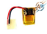 Аккумулятор литий-полимерный 35mAh, 3.7v, 501013, для bluetooth наушников и гарнитур