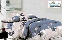 Семейный комплект постельного белья сатин с двумя пододеяльниками