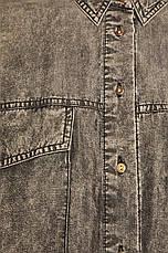 Джинсовая женская рубашка, фото 3