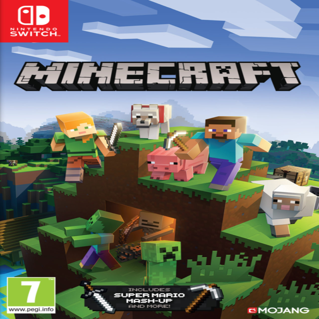 Minecraft Nintendo Switch Edition (русская версия)