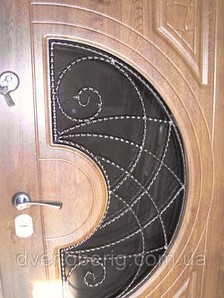 Входная дверь модель П5 361+ vinorit-90 КОВКА, фото 2