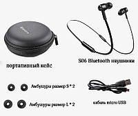 Оригинальные беспроводные Bluetooth наушники Baseus Encok S06 32Ом (Ω) / 20-20000Гц / 100 Дб /