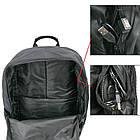 Рюкзак светящийся в темноте Железный Человек | Рюкзак USB + замок, фото 4