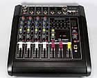 Аудио микшер Mixer BT 5200D   Микшерный пульт   Усилитель звука, фото 3