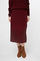 Женственно, комфортно и тепло – так можно описать данную модель нашей юбки р.44-48, Код 3511М