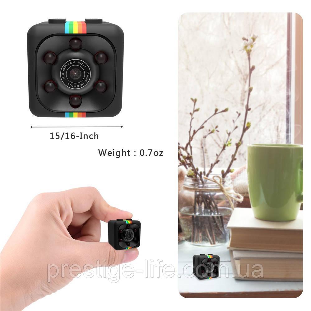 SQ11 PRO мини камера-руч  Full HD 1080P Mini DV DVR Камера SQ11 .  ночного видения - черный , датчик движения