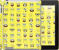 "Чехол на iPad 2/3/4 Губка Боб. Мордашки ""2346c-25"""