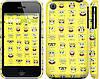 """Чехол на iPhone 3Gs Губка Боб. Мордашки """"2346c-34"""""""