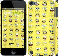 "Чехол на iPod Touch 5 Губка Боб. Мордашки ""2346c-35"""