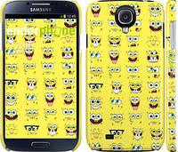 "Чехол на Samsung Galaxy S4 i9500 Губка Боб. Мордашки ""2346c-13"""