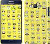 """Чехол на Samsung Galaxy A5 A500H Губка Боб. Мордашки """"2346c-73"""""""