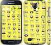"Чехол на Samsung Galaxy S4 mini Duos GT i9192 Губка Боб. Мордашки ""2346c-63"""