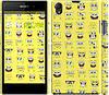 """Чехол на Sony Xperia Z1 C6902 Губка Боб. Мордашки """"2346c-38"""""""