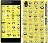 "Чехол на Sony Xperia Z2 D6502/D6503 Губка Боб. Мордашки ""2346c-43"""