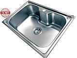 Кухонная мойка (врезная) GALATI BELLA TEXTURA, фото 3