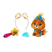 Игровой набор с мягкой игрушкой Shimmer Stars - Щенок Бабли c аксессуарами (S19302)