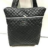 Женские стеганные сумки Chanel (СИНИЙ-ЗОЛОТО)32*34см, фото 4