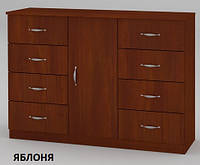 Комод 8+1 большой, с дверцами и ящиками, фото 1