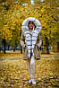 Женская парка с натуральным мехом, фото 4