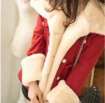 Демисезонное пальто-куртка для модных девушек, фото 3