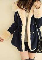 Демисезонное пальто-куртка для модных девушек, фото 2