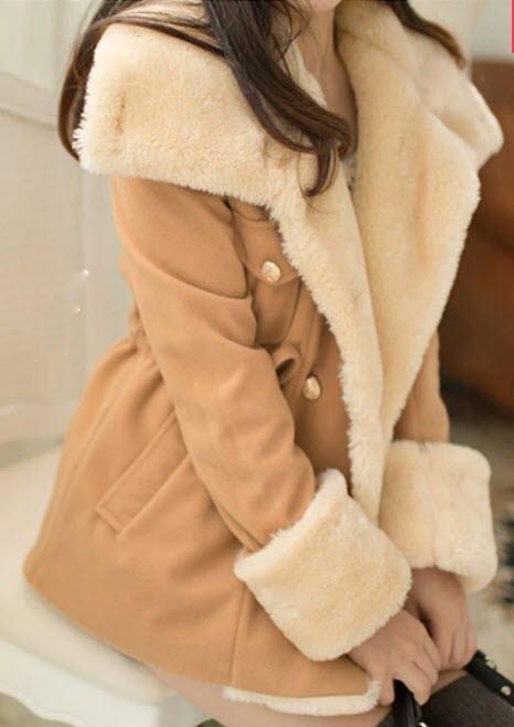 Демисезонное пальто-куртка для модных девушек