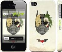 """Чехол на iPhone 4 Batman. Trilogy """"910c-15"""""""