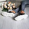 Женские кроссовки из натуральной замши черного  цвета, фото 7