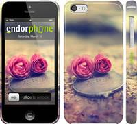 """Чехол на iPhone 5c Две розы """"698c-23"""""""