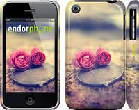 """Чехол на iPhone 3Gs Две розы """"698c-34"""""""