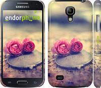 "Чехол на Samsung Galaxy S4 mini Две розы ""698c-32"""
