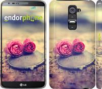 """Чехол на LG G2 Две розы """"698c-37"""""""